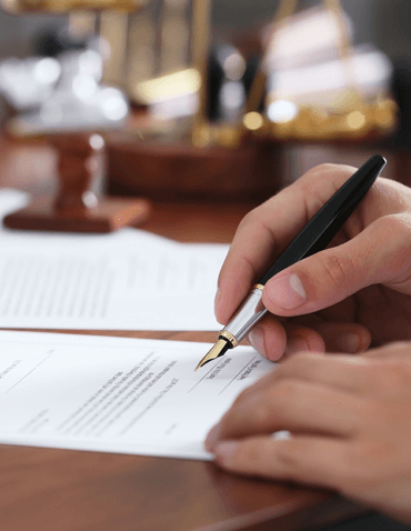 probate and trust litigation paperwork