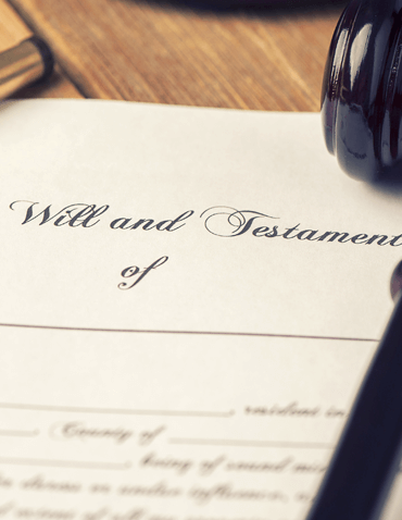 Will and testament planning